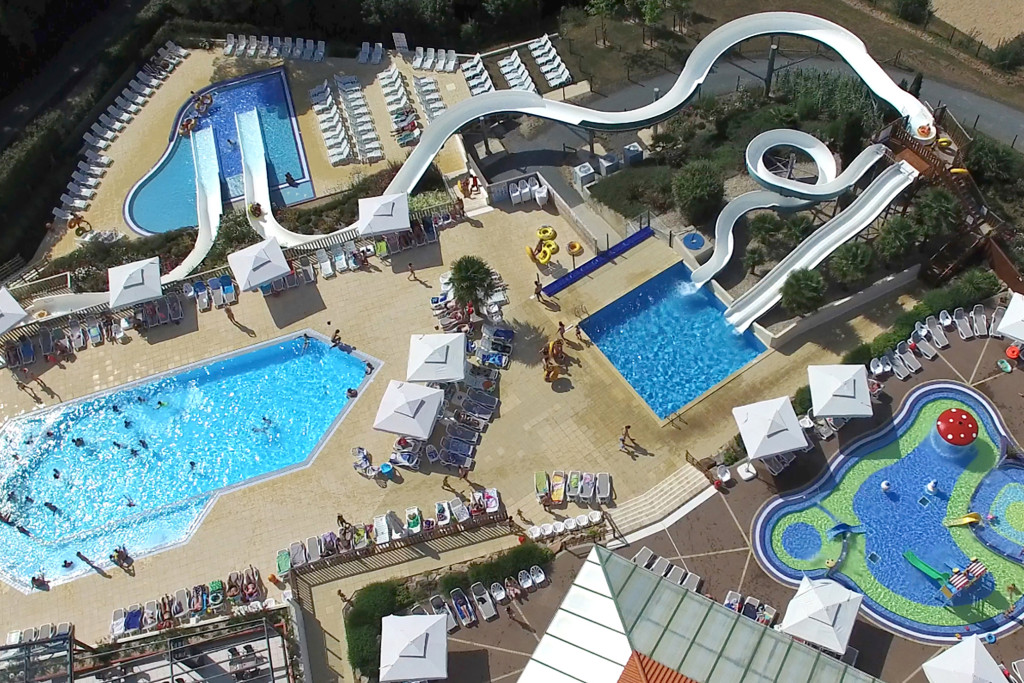 Video photo drone hotel camping vendee