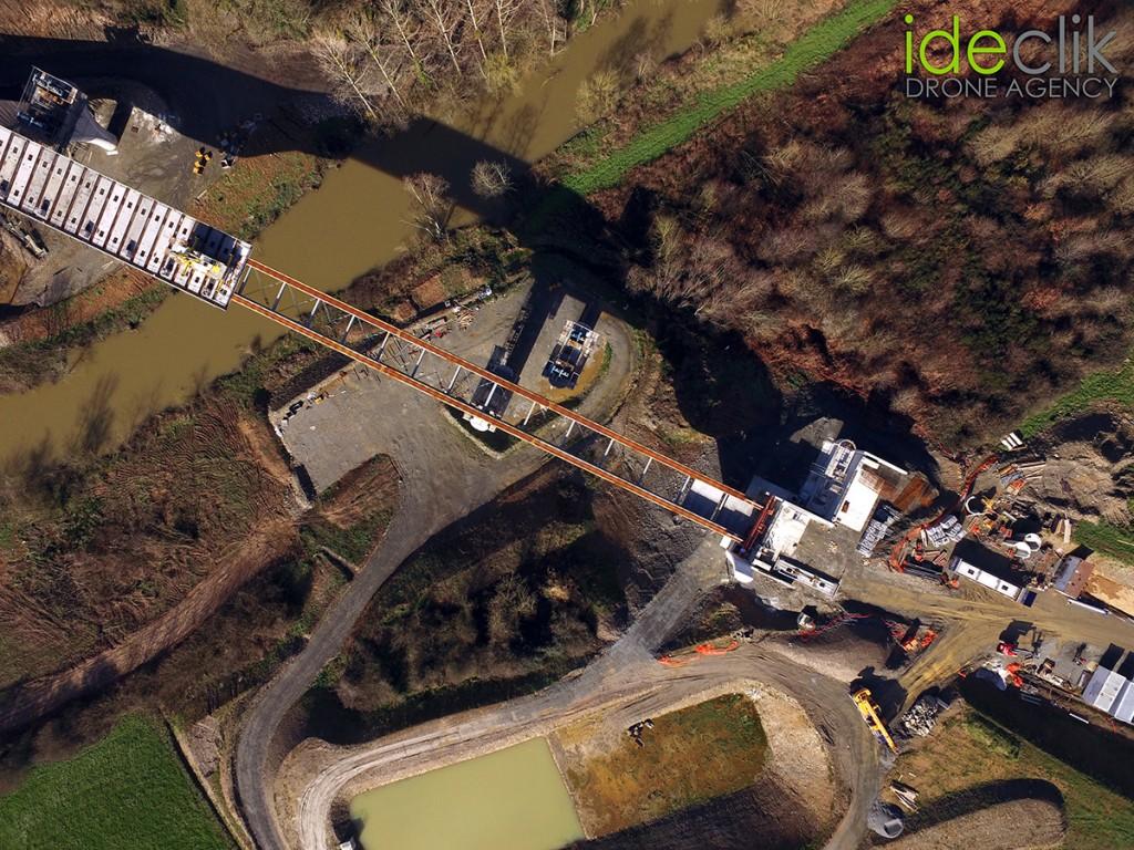 Drone Btp Travaux publics Génie civil Vendée